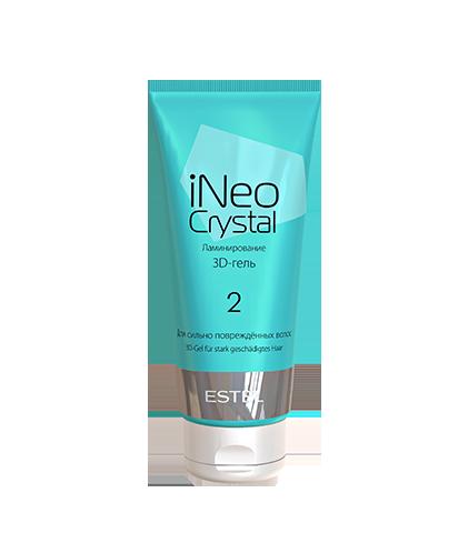 3D-гель для сильно повреждённых волос iNEO-CRYSTAL 200 мл.