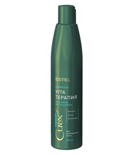 Hair Shampoo for dry, Impoverished and Damaged Hair CUREX THERAPY