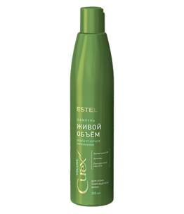 Shampoo for Dry and Damaged Hair CUREX VOLUME