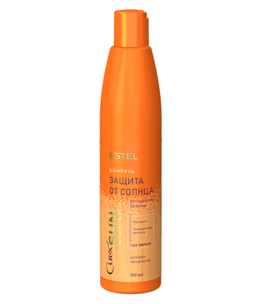 Shampoo Moisturizing & Nourishment with UV-filter for All Hair Types CUREX SUN FLOWER