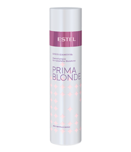 Gloss Shampoo for Light Hair PRIMA BLONDE