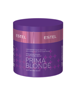 Silvery Mask for Cold Blond Shades PRIMA BLONDE