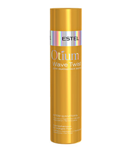 Cream Shampoo for Curly Hair OTIUM WAVE TWIST