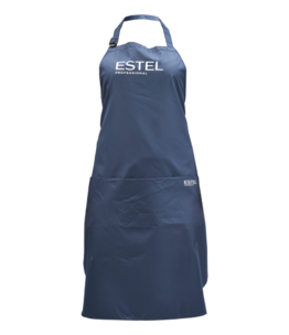 ESTEL PROFESSIONAL hairdressing apron with an embedded pocket