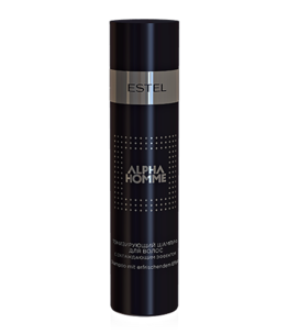 Hair Toning Shampoo with Cooling Effect ALPHA HOMME