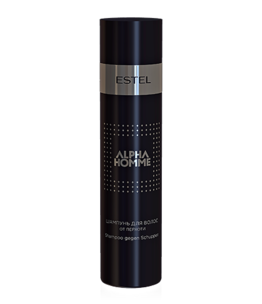 Anti-Dandruff Hair Shampoo ALPHA HOMME