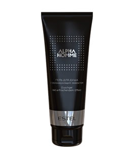 Shower Gel with Cooling Effect ALPHA HOMME