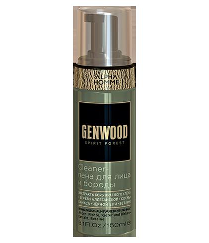 Cleaner-пена для лица и бороды Genwood (150 мл)