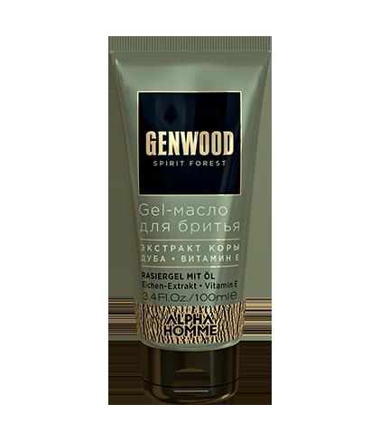 Gel-масло для бритья Genwood (100 мл)