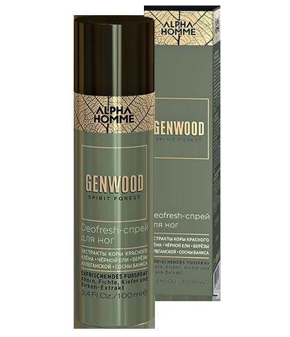 Deofresh-спрей для ног Genwood (100 мл)