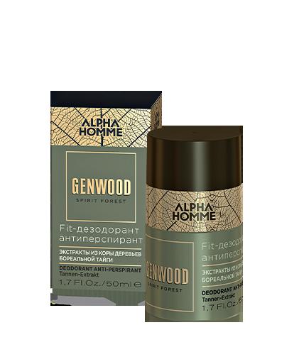 Fit-дезодорант антиперспирант Genwood (50 мл)